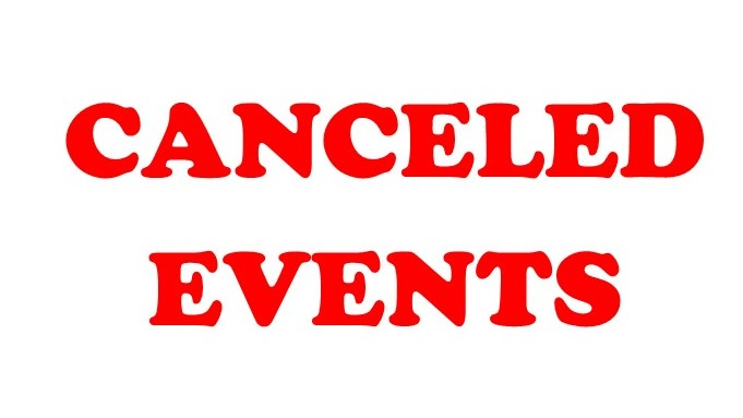 Canceled Events clipart