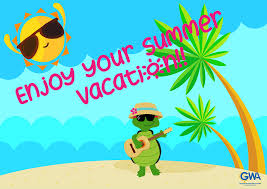 Enjoy summer vacation