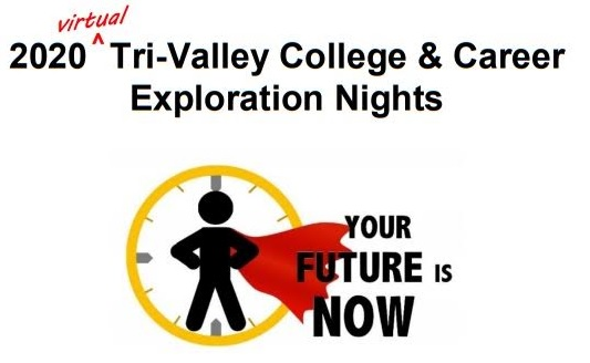 Tri-Valley College & Career Exploration Nights - October 6 - October 8, 4pm - 8:30pm