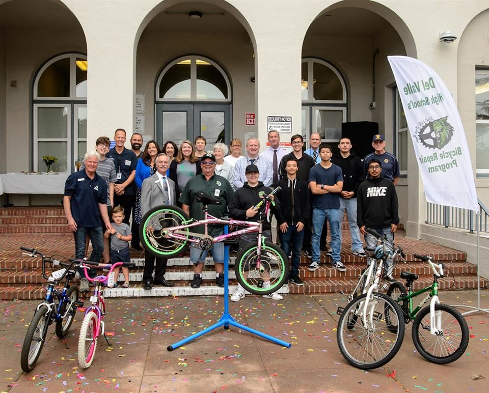 Celebrating 1,000 Bicycles for the Community