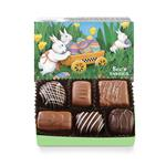 Candy box with bunnies