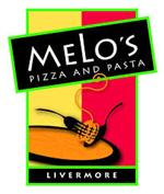 Melo's Pizza and Pasta Logo