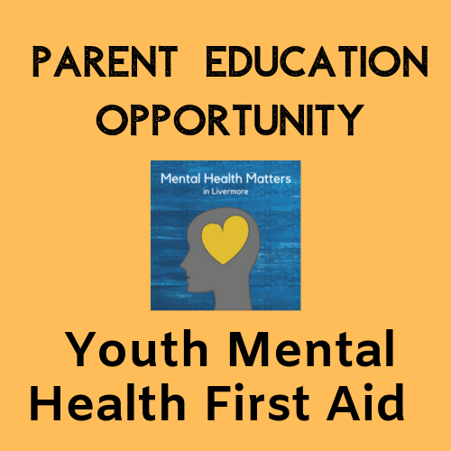 YMHFA Parent Education Opportunity