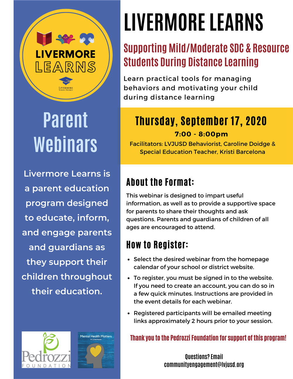 Livermore Learns Flyer