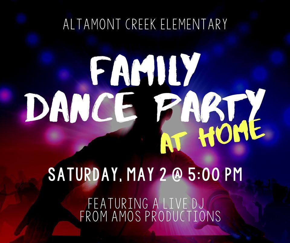 Dance Party - May 2nd 5:00PM