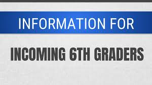 Incoming 6th Grade Music Form and a link to parent orientation information